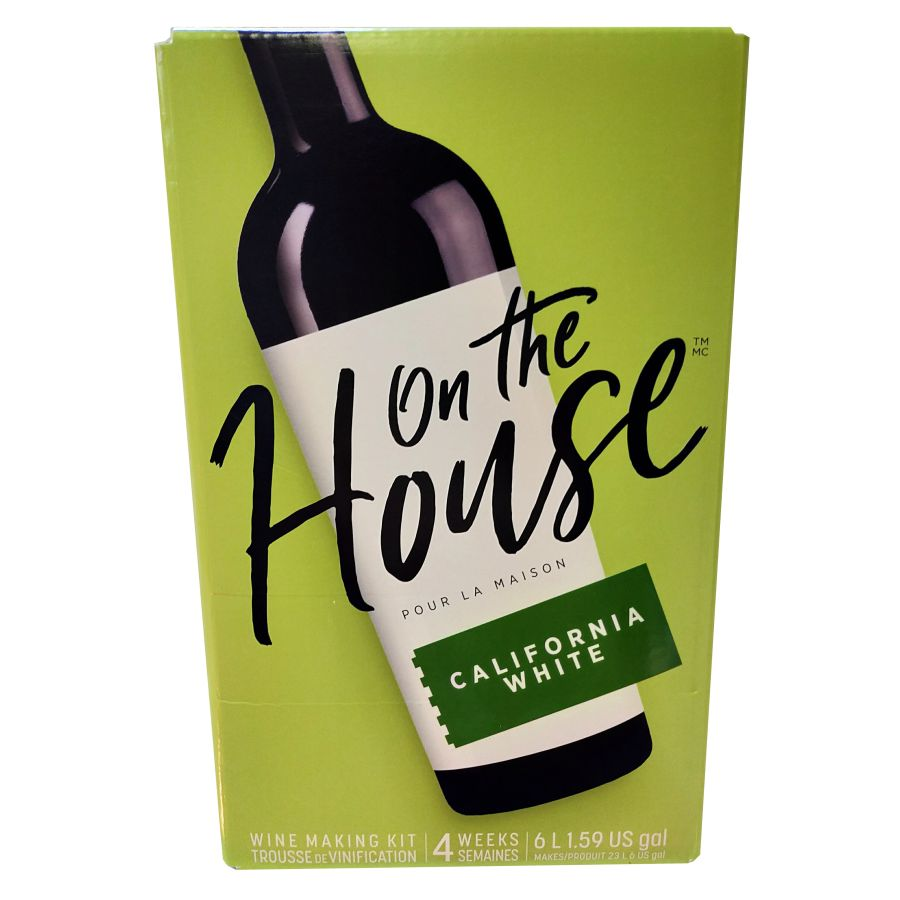 On the House - California White 6 Litres