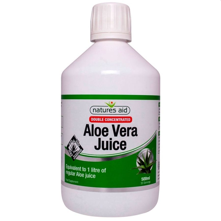 Natures Aid Double Concentrated Aloe Vera Juice 500mls