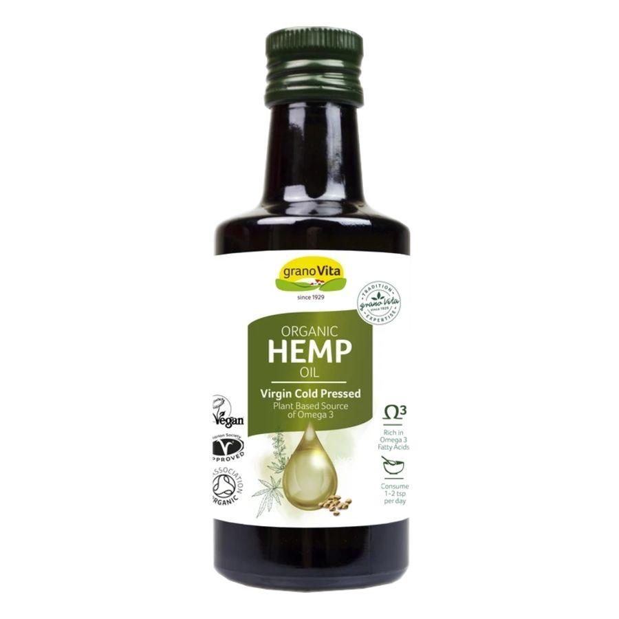 Granovita Organic Hemp Oil 260mls