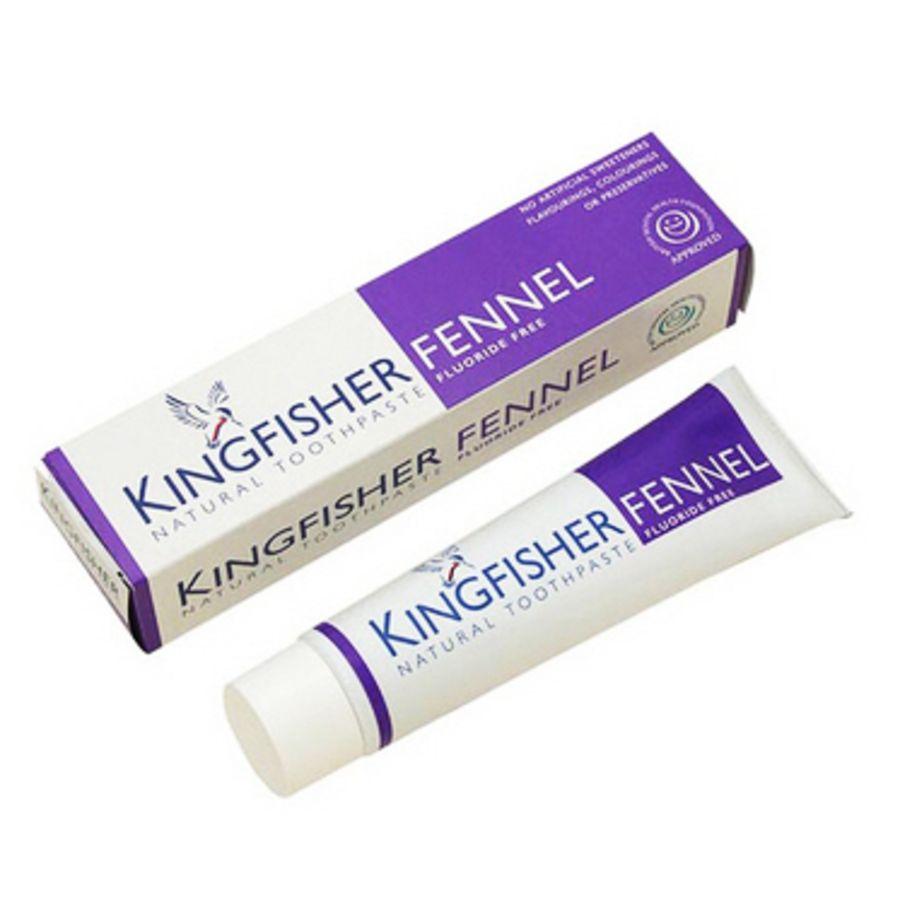 Kingfisher Toothpaste Fennel Fluoride-Free 100 mls
