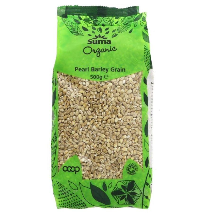 Suma Organic Pearl Barley 500g