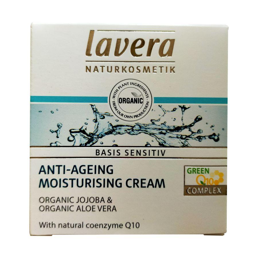 Lavera Basis Sensitive Anti-Ageing Moisturising Cream 50mls