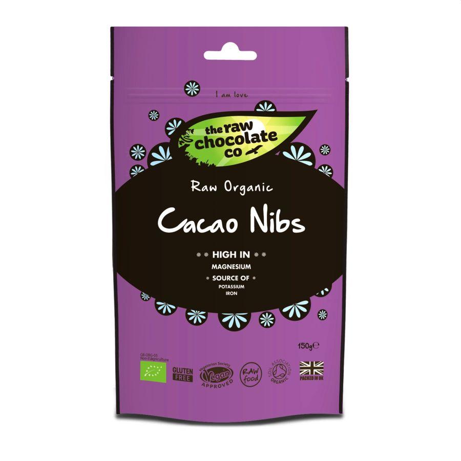 Raw Choc Co Raw Cacoa Nibs 150g