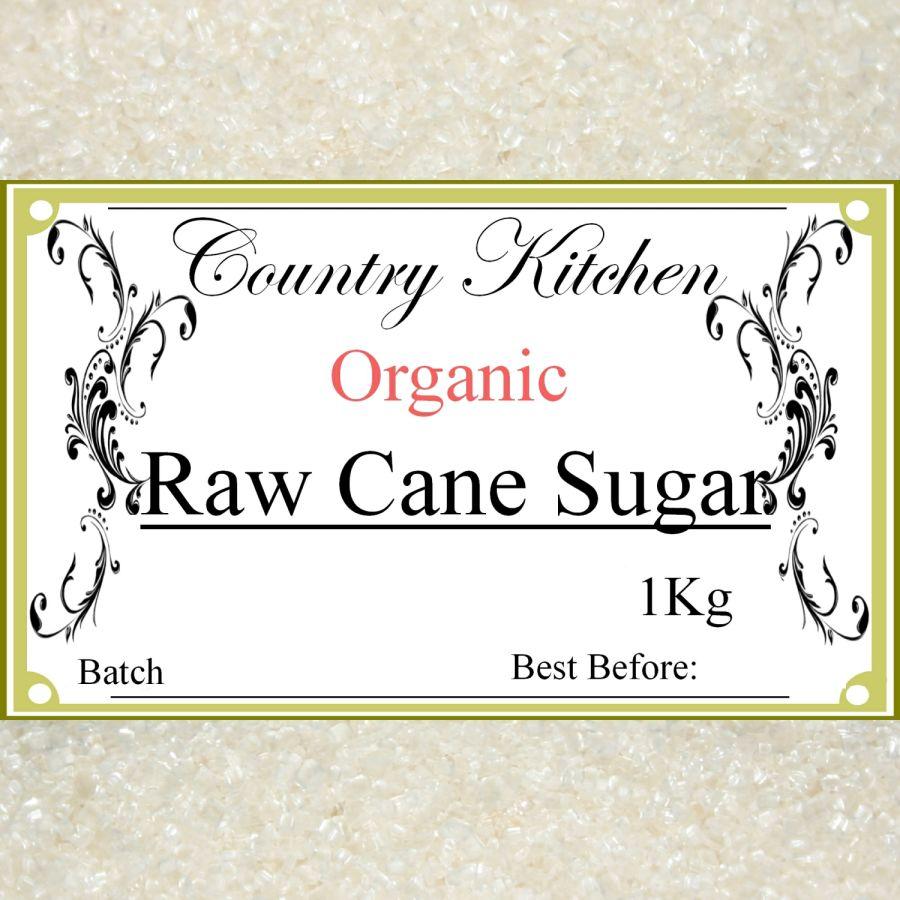 Country Kitchen Organic Raw Cane Sugar 1kg