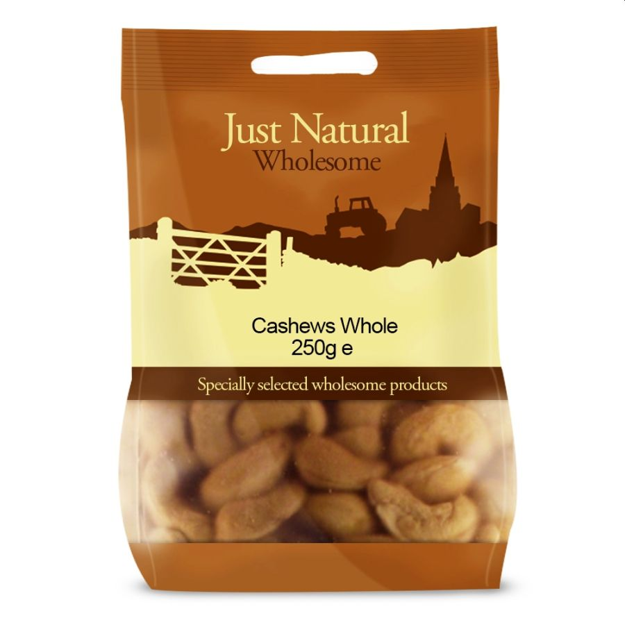 Just Natural Organic Cashew Nuts 125g
