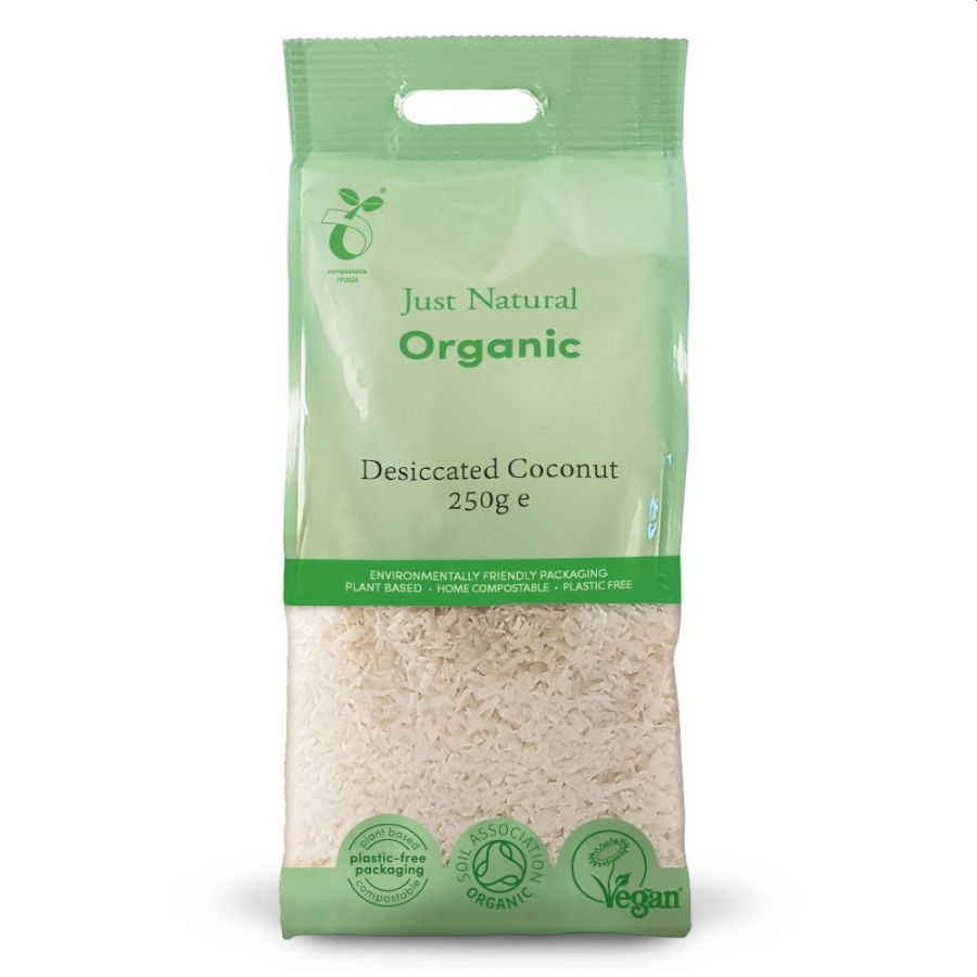 Just Natural Organic Desiccated Coconut  250g