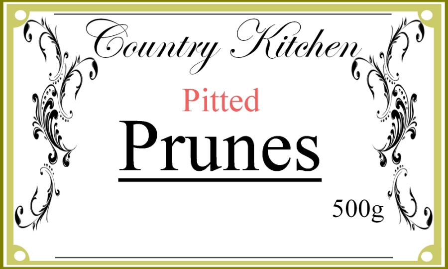 Country Kitchen Pitted Prunes 500g