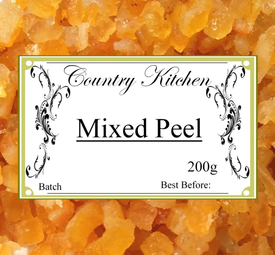 Country Kitchen Mixed Peel 200g