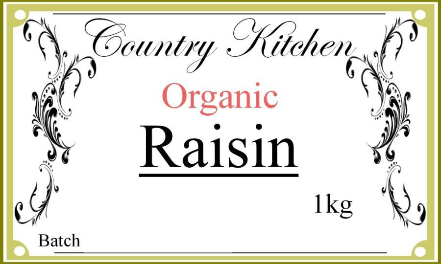 Country Kitchen Organic Raisins 1kg