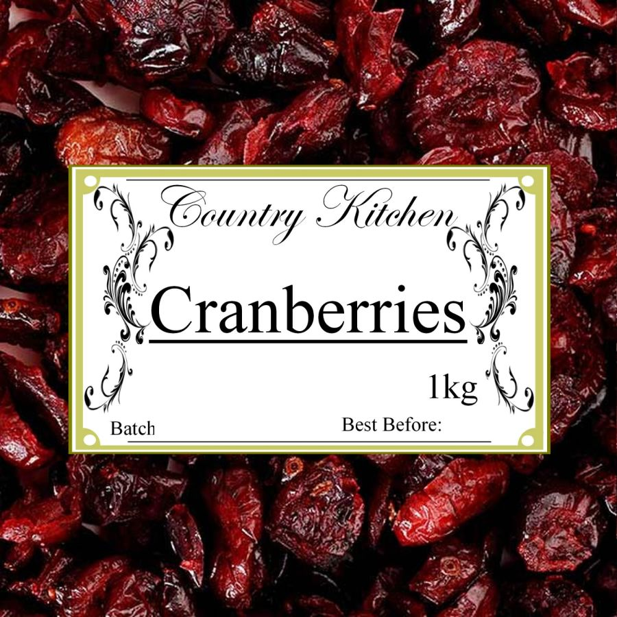 Country Kitchen Cranberries 1kg