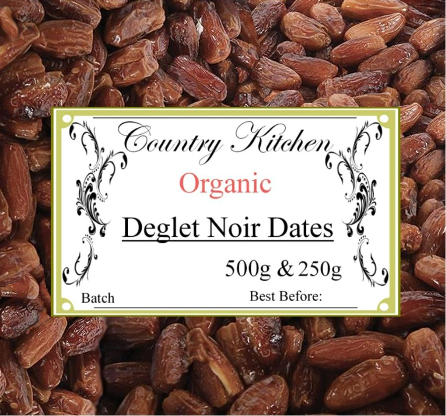 Country Kitchen Organic Pitted Deglet Noir Dates 500g