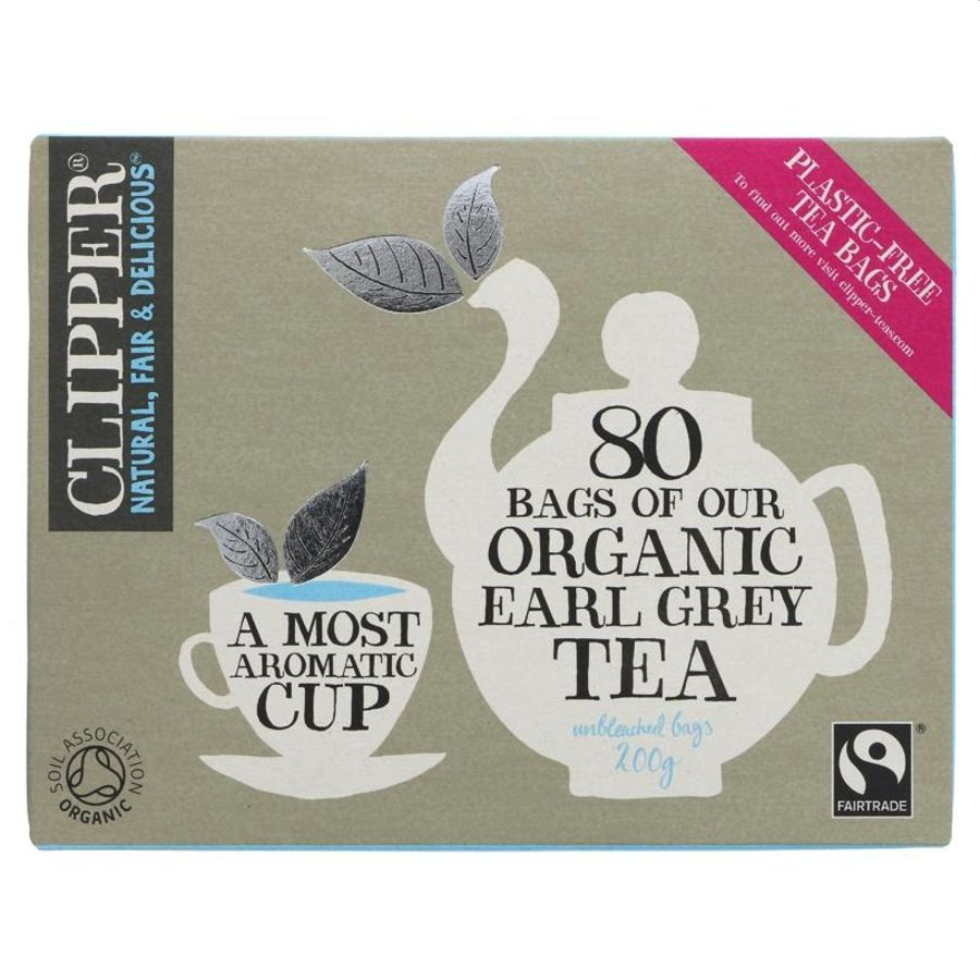 Clipper Organic Earl Grey Tea 80 teabags