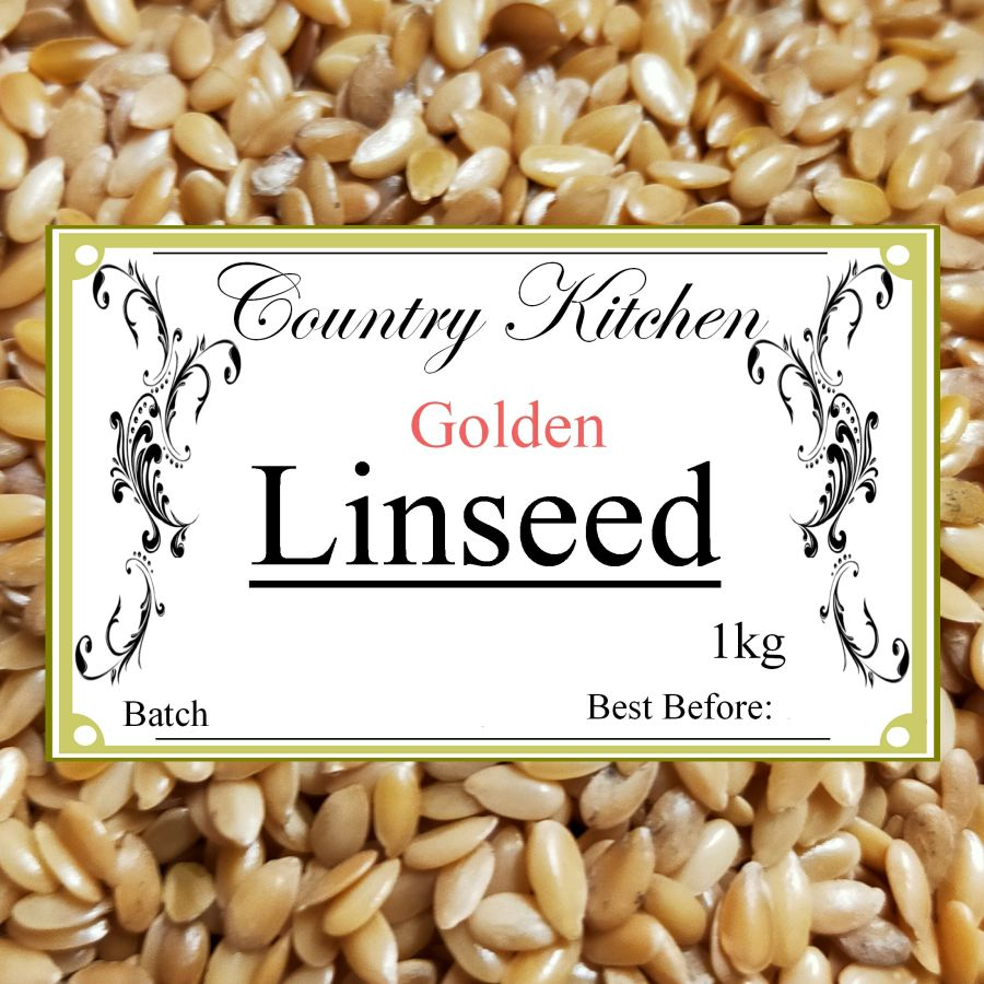 Country Kitchen Organic Golden Linseed 500g