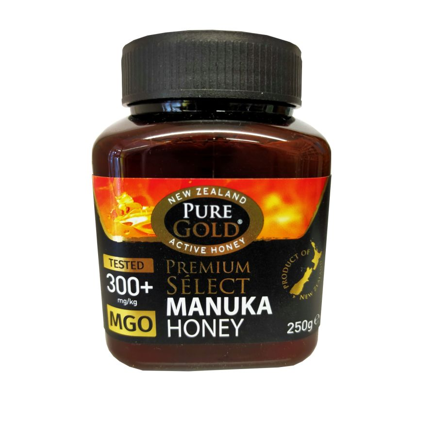 Pure Gold Active 300+ Manuka Honey 250g