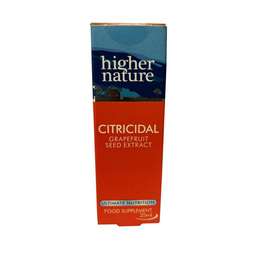 Higher Nature Citricidal Liquid Concentrate 25mls