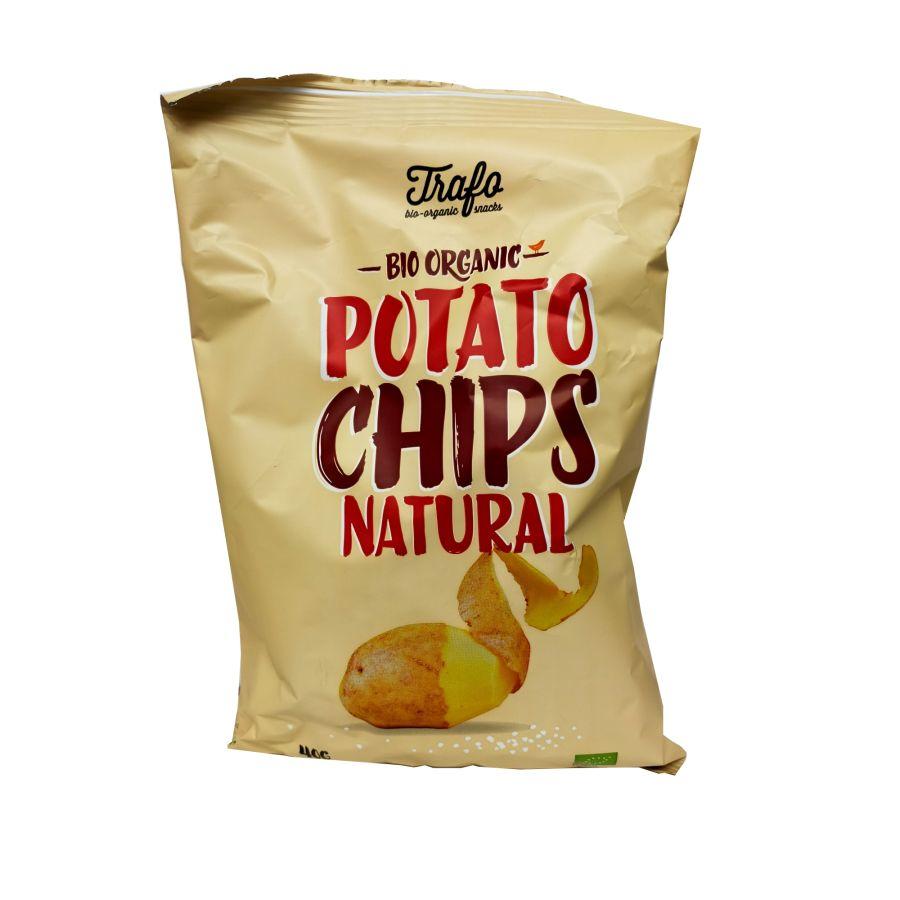 Trafo Bio Organic Potato Chips Natural 40g