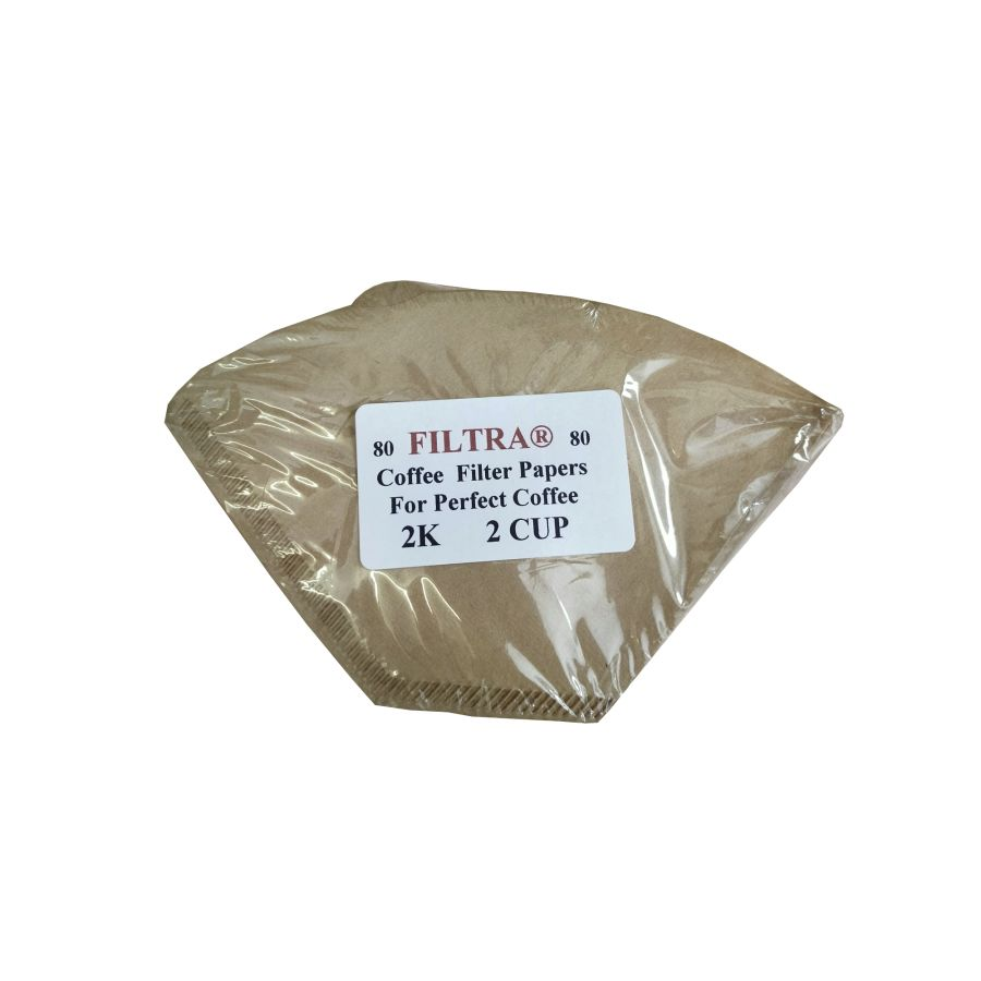 Filtra Coffee Filters Papers 2K 80 filters