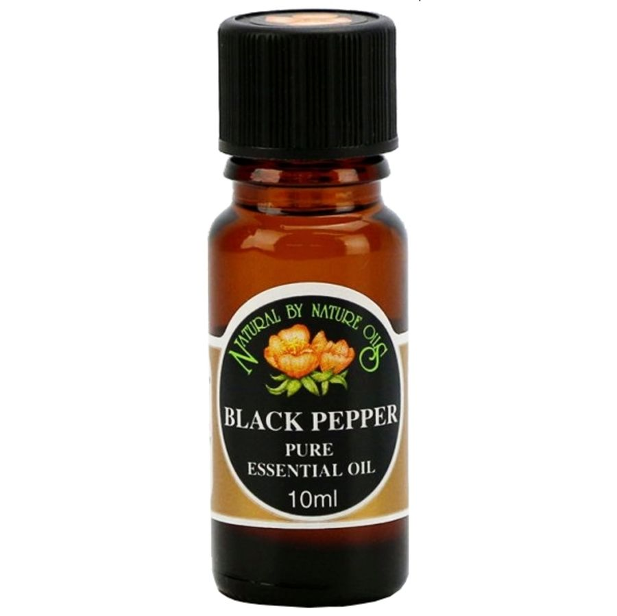 Black Pepper Essential Oil 10mls - Natural by Nature