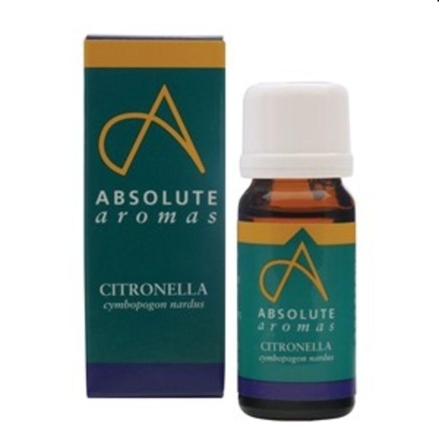 Citronella Essential Oil 10mls - Absolute Aromas