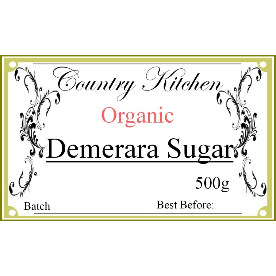 Country Kitchen Organic Demerara Sugar 500g