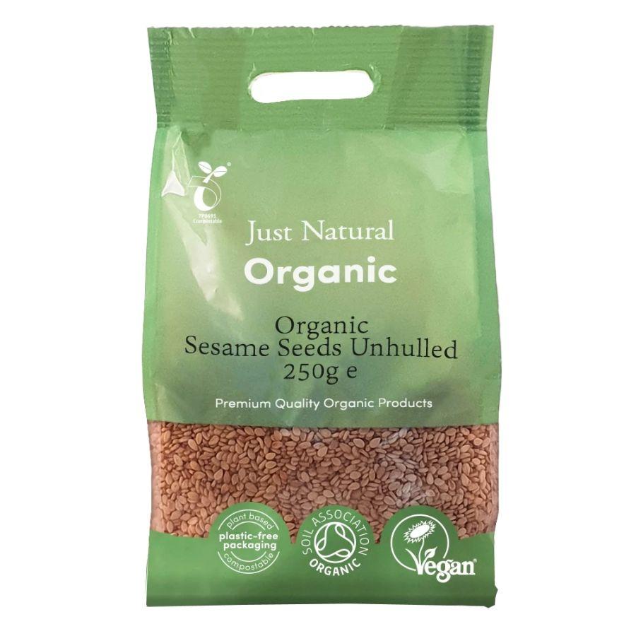 Just Natural White Sesame Seeds 250g