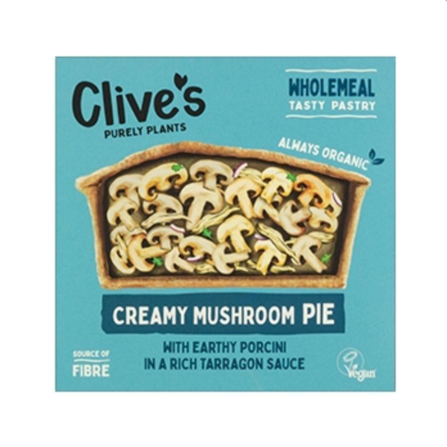 Clive's Organic Creamy Mushroom Pie 260g