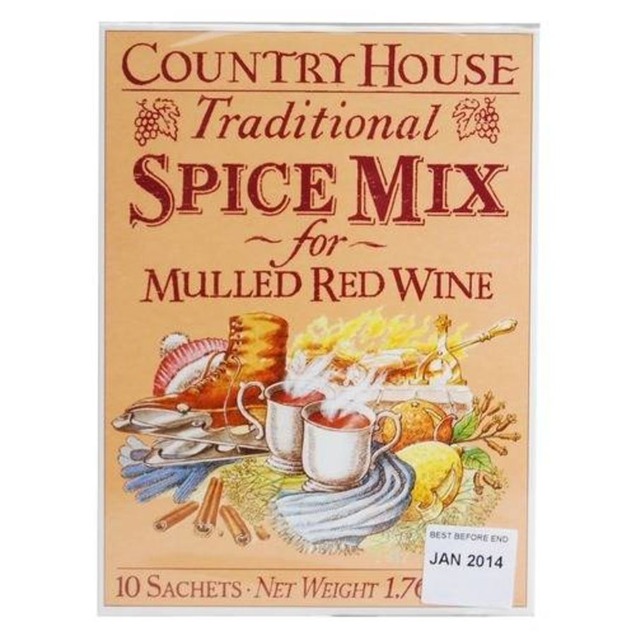Country House Traditional Spice Mix-Mulled Wine 10 sachets