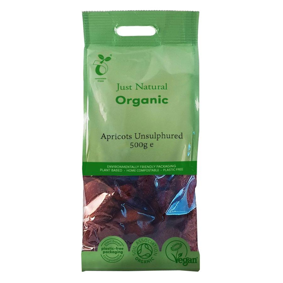 Just Natural Organic Unsulphured Apricots 500g