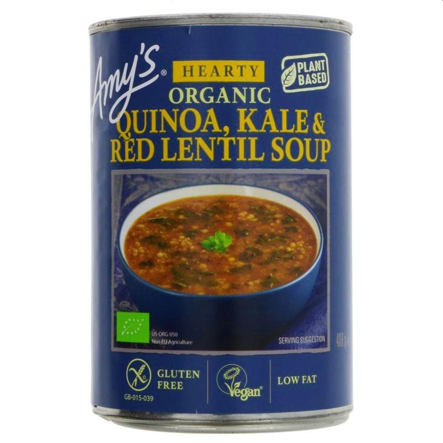 Amy's Kitchen Organic Quinoa Kale Red Lentil Soup 400g