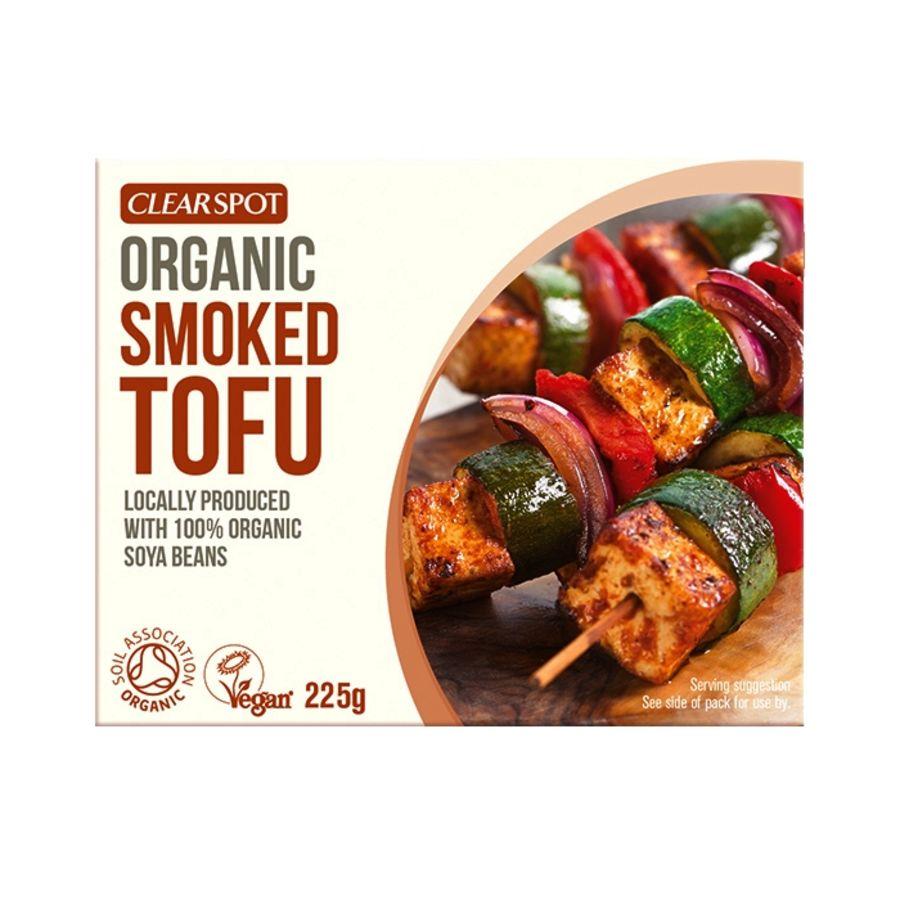 Clear Spot Organic Tofu Naturally Smoked 225g