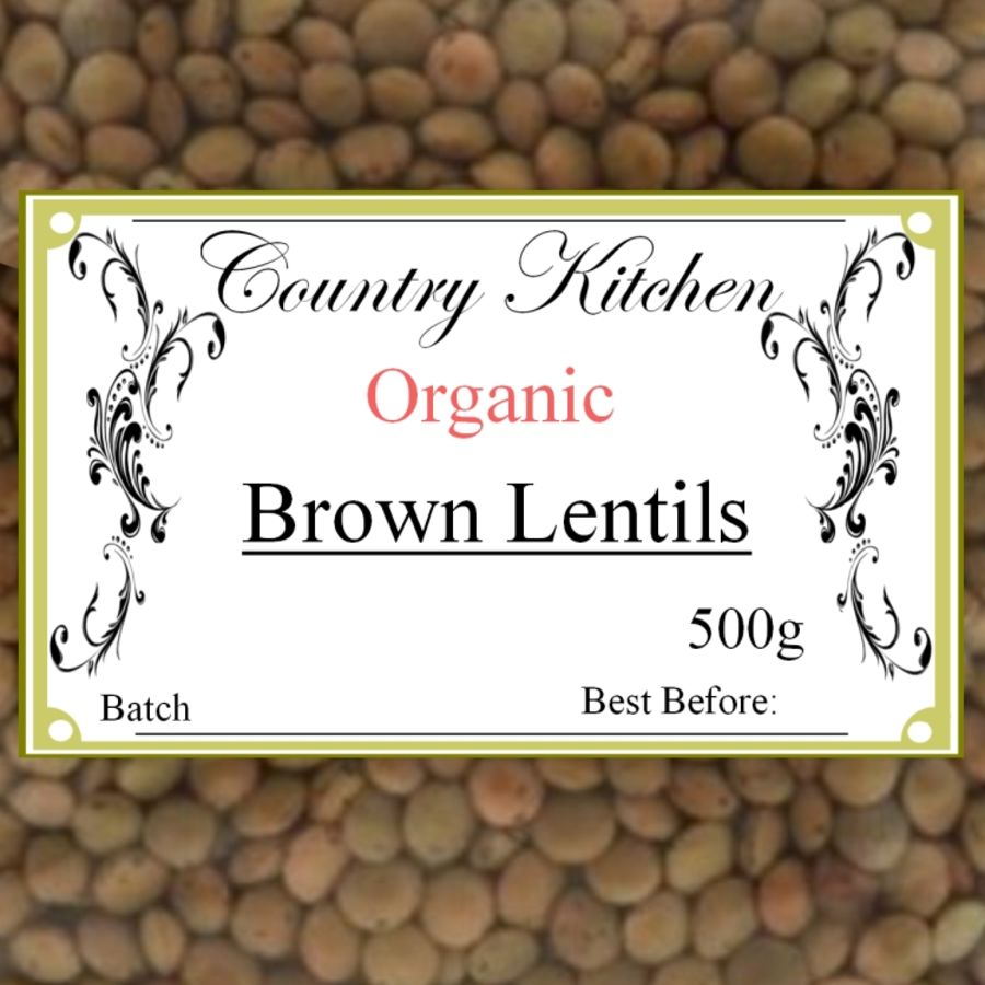 Country Kitchen Organic Brown Lentils 500g