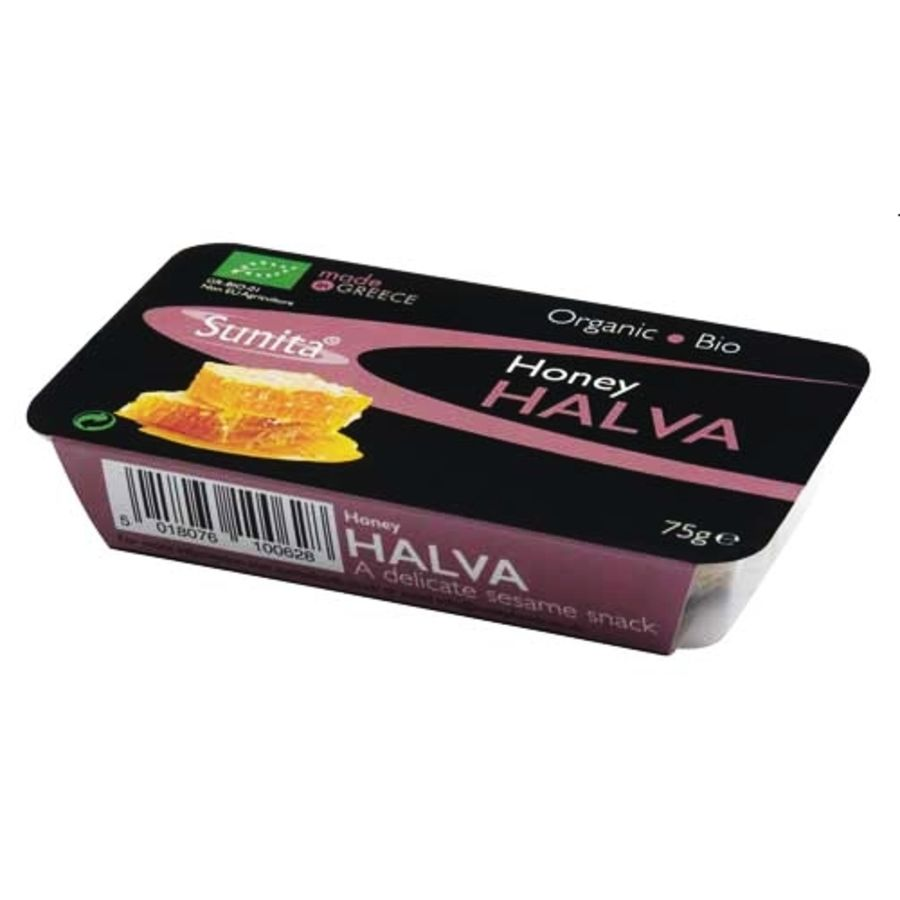 Sunita Organic Honey Halva 75g