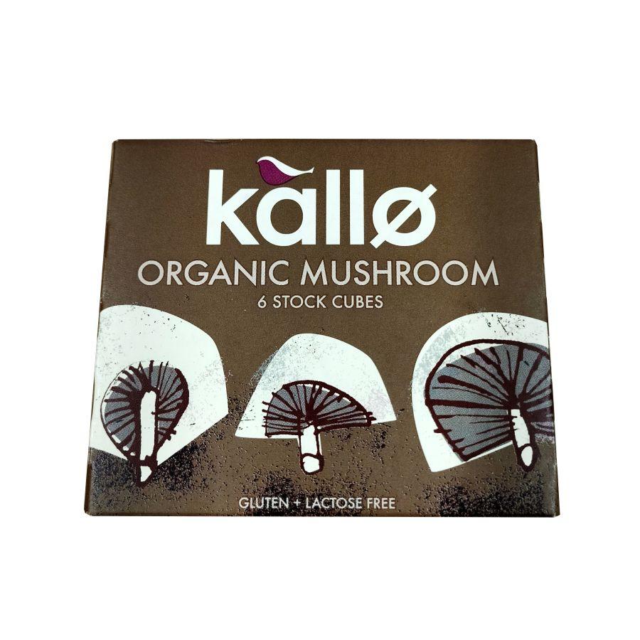 Kallo Organic Mushroom Stock 6 Cubes