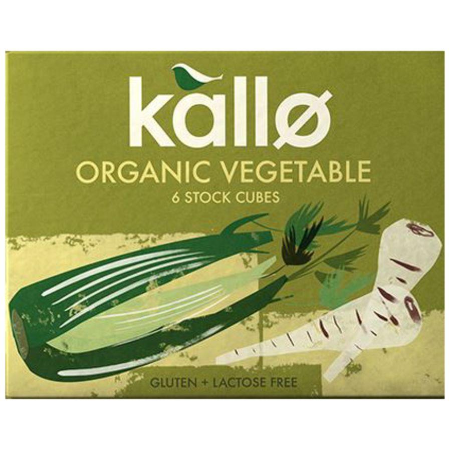 Kallo Organic Vegetable Stock 6 Cubes