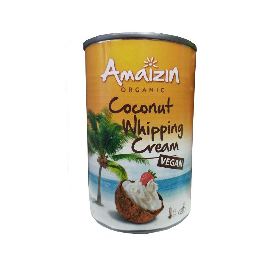 Amaizin Organic Coconut Whipping Cream 400mls