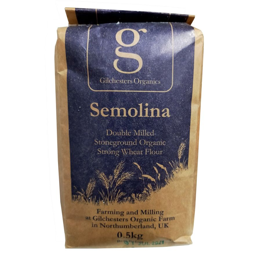 Gilchesters Organic Semolina 500g