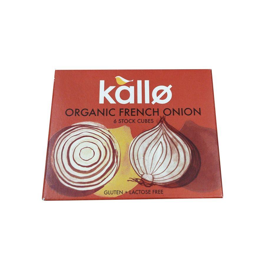 Kallo Organic French Onion Stock 6 Cubes