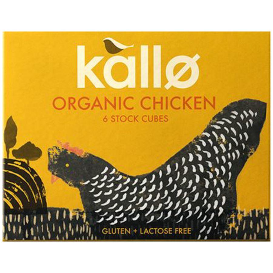 Kallo Organic Chicken Stock 6 Cubes