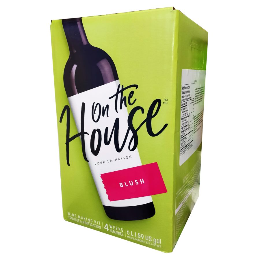 On the House - Blush 6 Litres