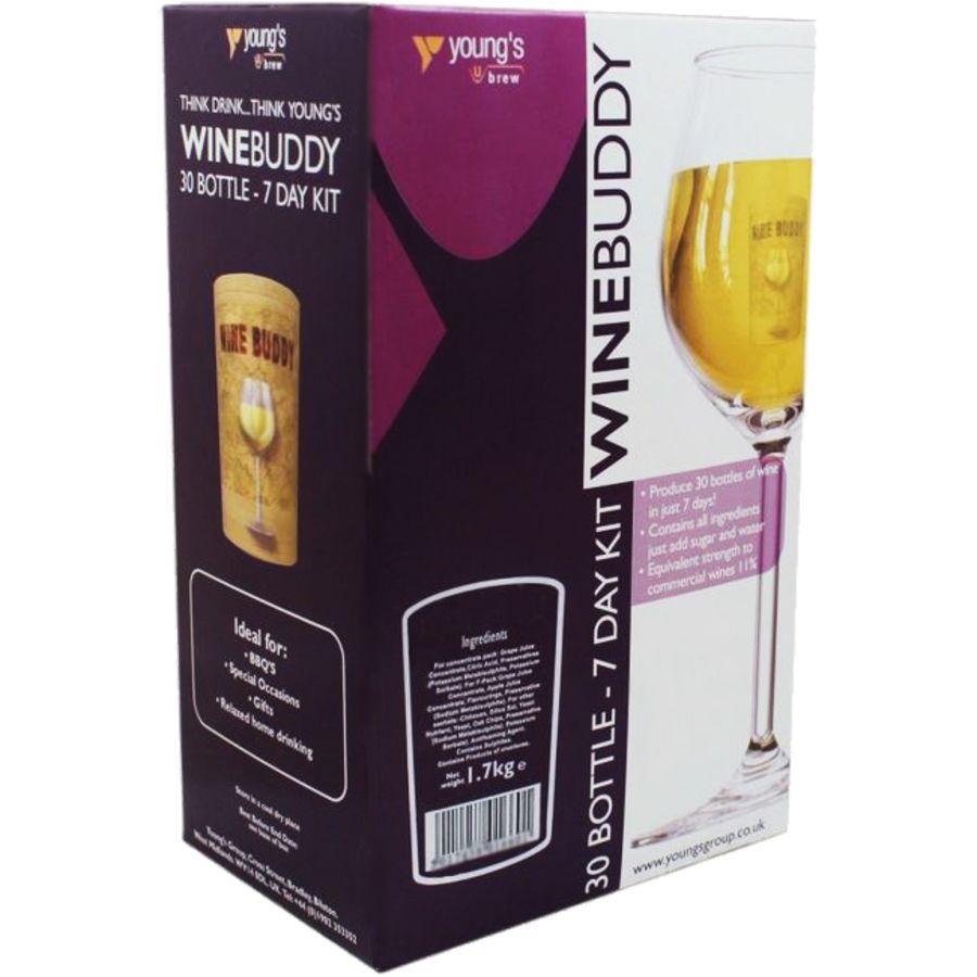 Youngs Wine Buddy Merlot 7 Day Kits 30 bottles
