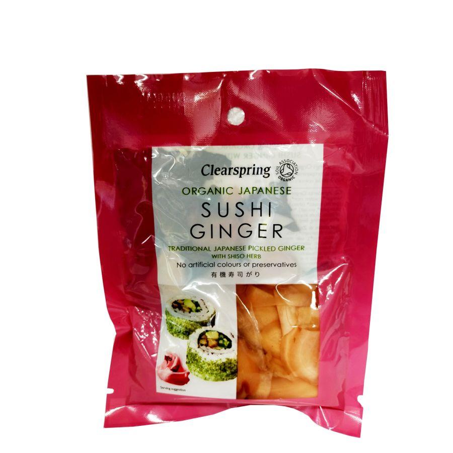 Clearspring Organic Japanese Sushi Ginger 50g