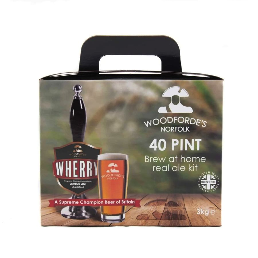 Woodforde's Norfolk Wherry 36 Pint Beer Kit