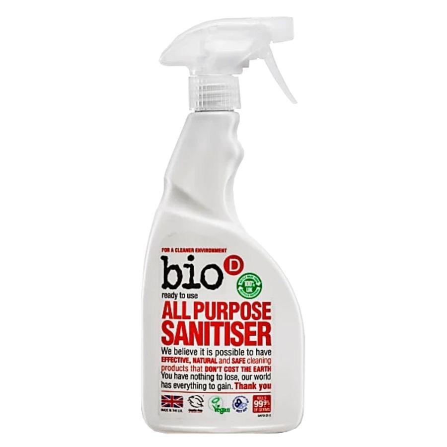 Bio-D All Purpose Sanitiser Spray 500mls