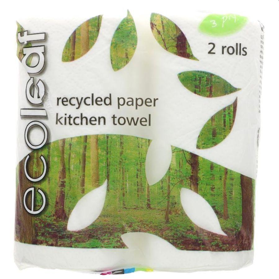 Eco Leaf Kitchen Towel 2 Rolls