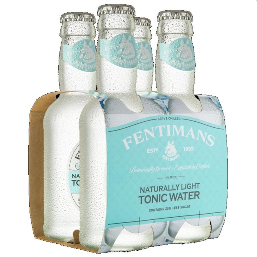 Fentimans Light Tonic Water  4x200mls