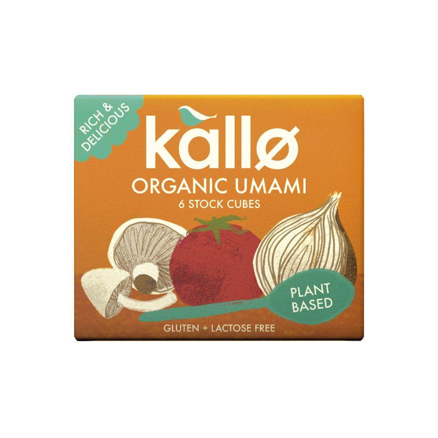 Kallo Organic Unami Stock Cubes 66g