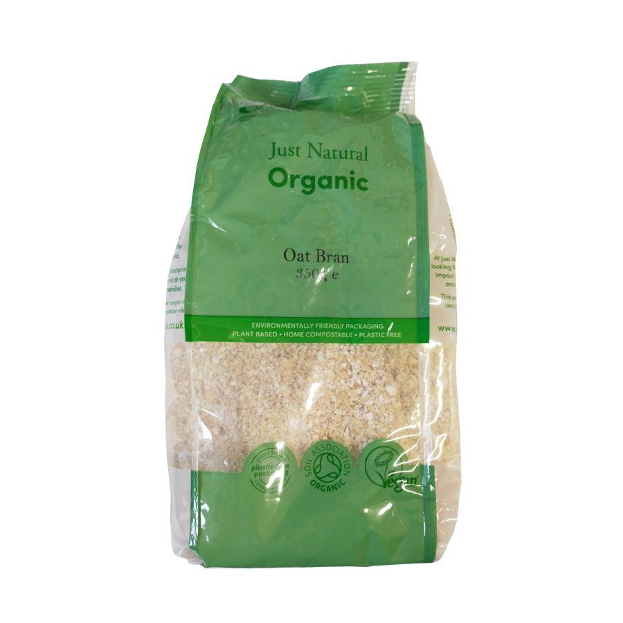 Just Natural Organic Oatbran 350g