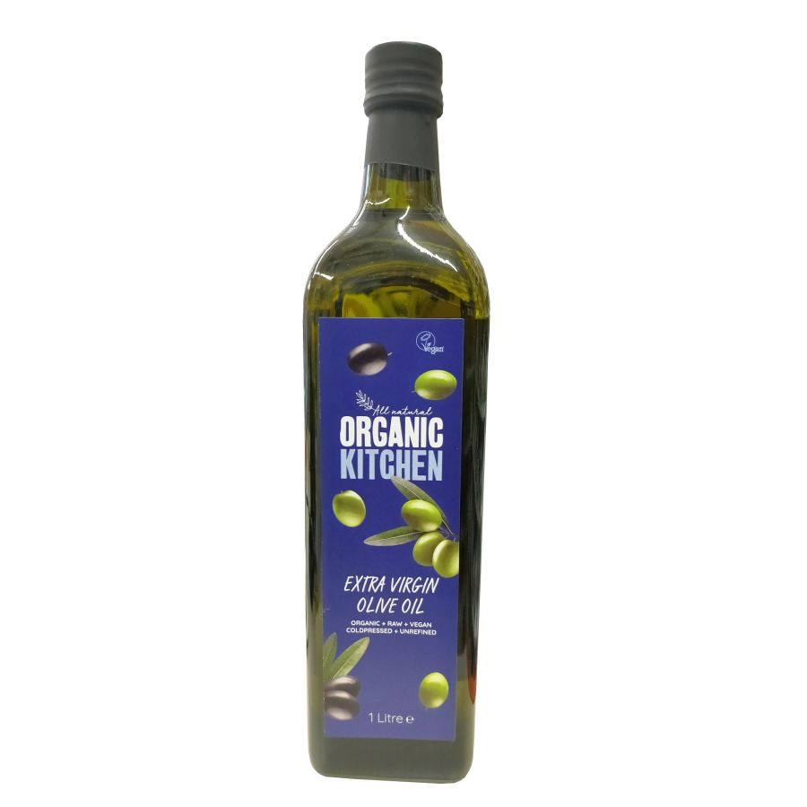 Organic Kitchen Extra Virgin Olive Oil 1000mls