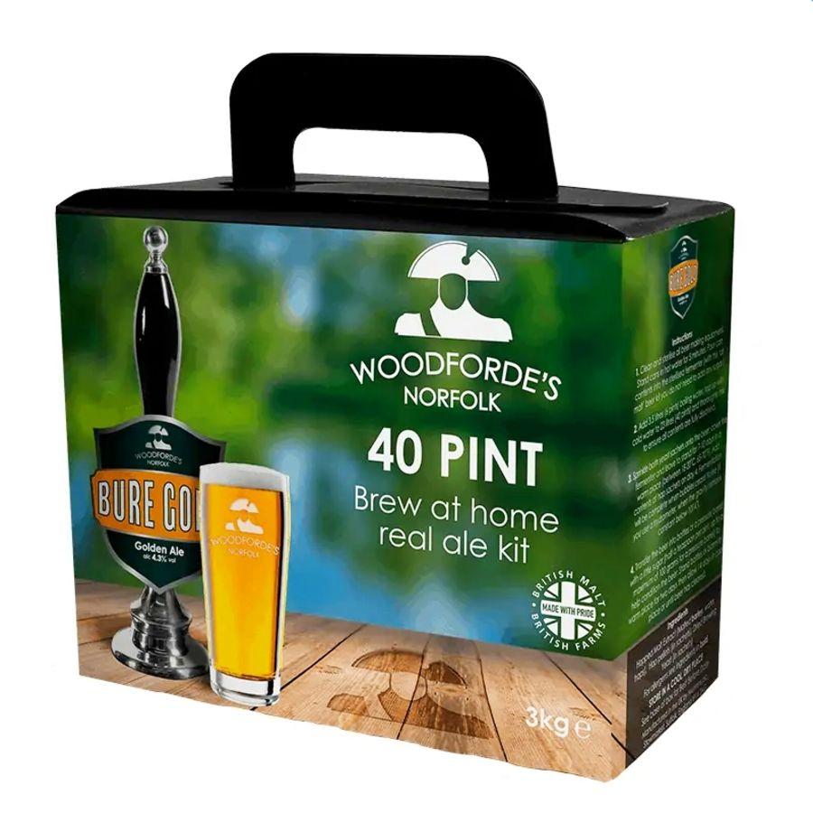 Woodforde's Norfolk 40 Pint Bure Gold Golden Ale