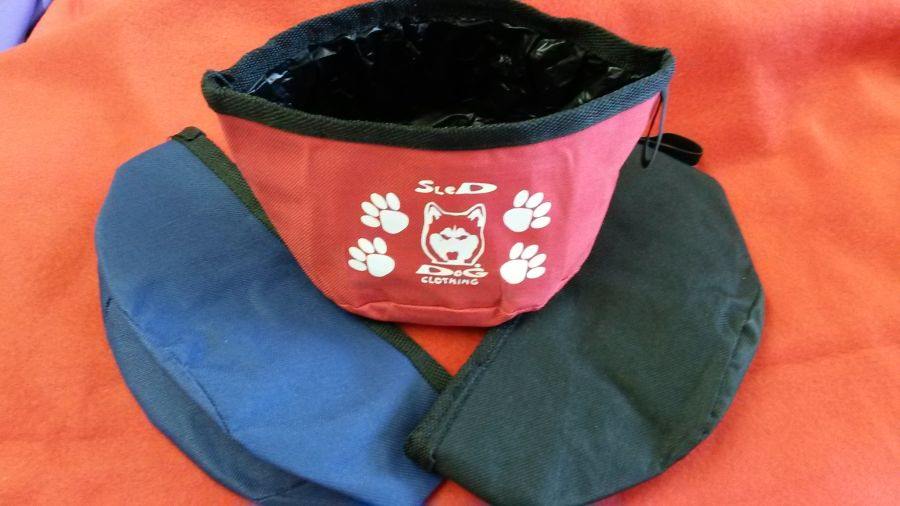 Personalised Doggy Collapsible/Travel Bowl